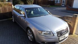 2006 Audi A6 Estate S-Line 2.0TDi (FSH) 6speed Manuel Silver (Private Sale)