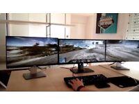 2 x Brand New, Dell 23inch full HD 1920 x 1080; Pro monitors.Unopened
