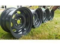 """Banded steel wheels 13"""" vw 4x100"""