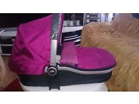 Graco Pushchair + baby seat and Pram