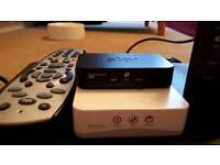 Sky box bundle internet and tv