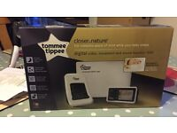 NEW Tommee Tippee Digital Video, Movement & Sound Monitor 1500.