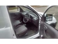 vauxhall combo white excellent condition