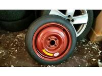 Honda civic mk7 space saver spare wheel new 2001/2005