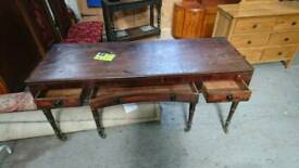 Antique 6 legged desk