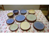 Denby Juice Dinner Plates & Bowls