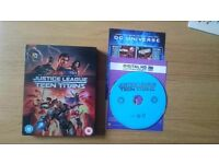 Justice League vs Teen Titans blu ray DVD (limited edition steelbook) Batman Flash Wonder Woman