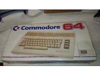 Commodore 64 C with Genuine Datasette + 123 Games 2 x Joystick & Literature VGC FULLY WORKING :)