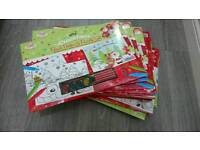 16 x Christmas paint, draw and puzzle sets new