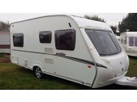 ABBEY VOGUE 470 fixed bed 4 berth caravan 2007