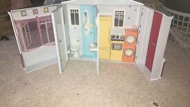 Vintage barbie play house