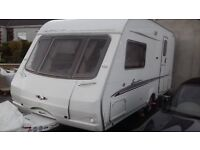 2005 2 BERTH SWIFT SIGNATURE 15/2E. MOTOR MOVER. AWNING EVERYTHING FOR HOLIDAYS MICROWAVE. EXCELLENT