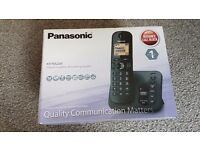 Panasonic KX TGC220 Single Wireless Landline Phone USED WITH BOX