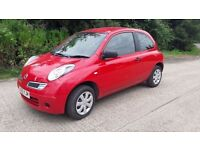 NISSAN MICRA 1.2 .. 2010..59 K WITH HISTORY AND 12 MONTHS MOT /DRIVES PERFECT