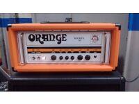 Orange Rocker 30 Guitar Head inc. Flight Case