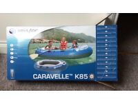 Dingy - Caravelle K85 Sevylor with paddles/oars ( Brand New )