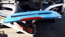 Renault clio rear splioler