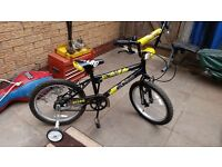 Childs bicycle bmx