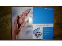 Pampering manicure set brand new
