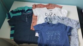 Next boys t-shirt bundle 1,5-2y