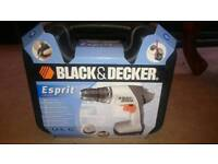 Brand new Black and Decker Esprit Drill