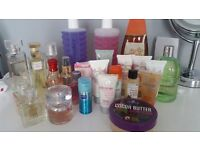 Toiletries and perfumes
