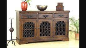 Solid Indian Wood Sideboard