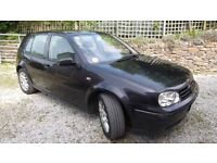 VW Golf TDi for spares or repairs.