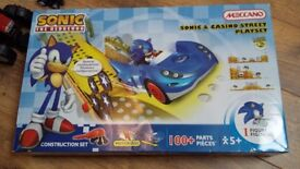 Sonic street play set, boys toys