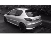 peugeot 206 gti 180 (12 months M.o.t)