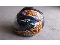 Shark S500 Air Motorcycle Motorbike Helmet - M 1450g - Never been in Accident but damaged in storage