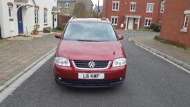 Volkswagen Touran SPORT 2.0 TDI AUTO 7 SEATS DIESEL SEMIAUTOMATIC