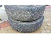 Tyres worn still 3 mm tread if not more