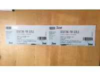 2 x Scouting for Girls tickets, Edinburgh on Sunday 5 November 2017