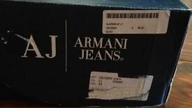 Armani jeans dressy shoes