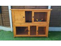 Two Tier Rabbit/Guinea Pig Hutch