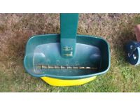 large lawn seed spreader - never used