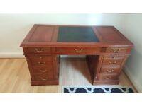 Vintage Harrods Luxury Office Desk For Sale (£299)