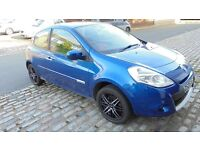 2009 Renault Clio Dynamique. Blue. Alloys