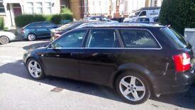Audi a4 1.9tdi black