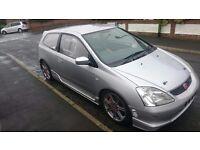 Honda civic type R - EP3 track car / turbo k20 / dc5