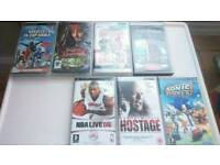 PLAYSTATION PORTABLE WITH 13 GAMES