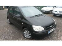 ONLY 200. DIESEL.. HYUNDAI GETZ 5 DOOR IN BLACK DIESEL 04 REG..MOT TILL MAY 17..CD/RADIO..ELEC WIND