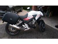 White Honda CBX 500 motorbike for sale £4195 ono