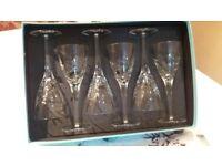 Fenn Wright Manson crystal wine glasses