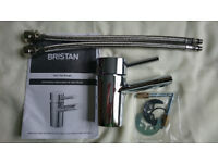 Tap - Bristan - Oval Basin Mixer with Eco-Click (no waste) - Chrome, NEVER USED!!!