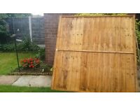 6 x 5 fence panel for sale