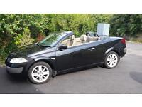 Renault Megane Convertible Coupe 1.6 VVT Privilege 2dr Karmann Edition Black with Leather interior