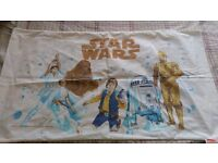 Star wars 1977 vitage double sided pillow case