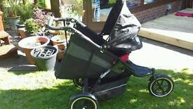 Phil & Ted's explorer including free car seat